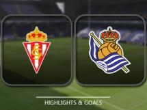 Sporting Gijon 1:3 Real Sociedad