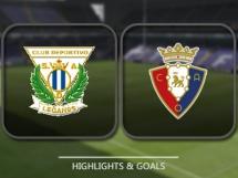 Leganes 2:0 Osasuna