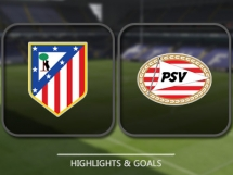 Atletico Madryt 2:0 PSV Eindhoven