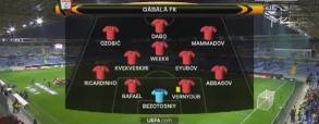 FK Qabala 1:3 Anderlecht
