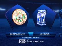 Zagłębie Lubin 0:3 Lech Poznań