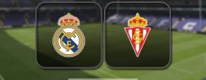 Real Madryt 2:1 Sporting Gijon