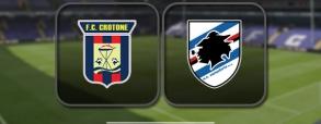 Crotone 1:1 Sampdoria