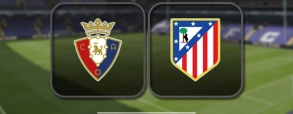 Osasuna 0:3 Atletico Madryt