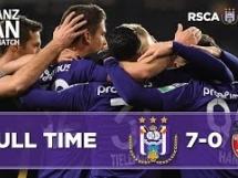 Anderlecht 7:0 Excelsior Mouscron