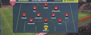 Dijon 1:1 AS Monaco