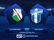 Legia Warszawa 2:2 Wisła Płock
