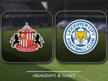 Sunderland 2:1 Leicester City