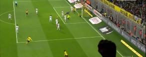 Gol Piszczka przeciwko Moenchengladbach