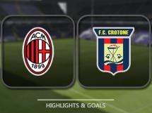 AC Milan 2:1 Crotone