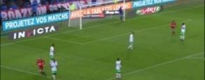 Piękny gol Grosickiego z Saint-Etienne