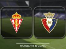 Sporting Gijon 3:1 Osasuna