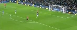 Ciekawa bramka Ibry z Evertonem