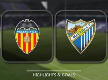 Valencia CF 2:2 Malaga CF