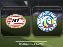 PSV Eindhoven 0:0 FK Rostov