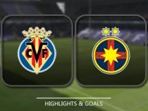 Villarreal CF 2:1 Steaua Bukareszt