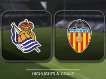 Real Sociedad 3:2 Valencia CF