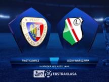Piast Gliwice 1:5 Legia Warszawa
