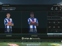 Espanyol Barcelona 2:1 Sporting Gijon
