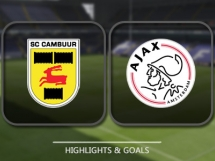 Cambuur 2:1 Ajax Amsterdam