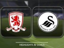 Middlesbrough 3:0 Swansea City