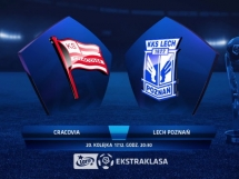 Cracovia Kraków 1:1 Lech Poznań