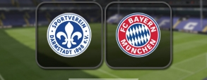 SV Darmstadt 0:1 Bayern Monachium