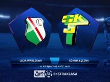 Legia Warszawa 5:0 Górnik Łęczna