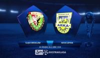 Śląsk Wrocław 0:2 Arka Gdynia