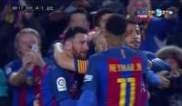 Piękny kontratak Barcelony i bramka Messiego