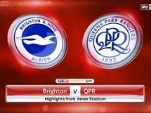 Brighton 3:0 Queens Park Rangers