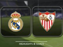 Real Madryt 3:0 Sevilla FC