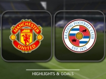 Manchester United 4:0 Reading
