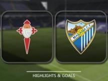 Celta Vigo 3:1 Malaga CF