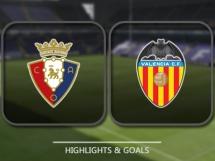 Osasuna 3:3 Valencia CF