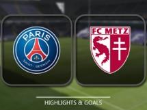 PSG 2:0 Metz