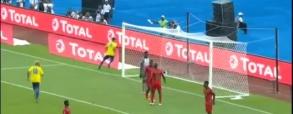 Pierwsza bramka w Pucharze Narodów Afryki! Aubameyang strzela Gwinei!