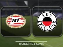 PSV Eindhoven 2:0 Excelsior Rotterdam