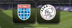 PEC Zwolle 1:3 Ajax Amsterdam