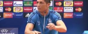 Ronaldo wkurzony po meczu z Sevillą