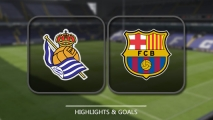 Real Sociedad 0:1 FC Barcelona [Wideo]