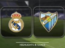 Real Madryt 2:1 Malaga CF