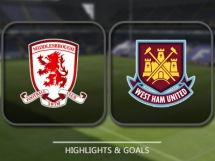 Middlesbrough 1:3 West Ham United