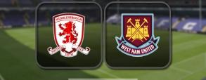 Middlesbrough 1:3 West Ham United