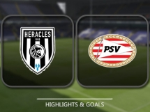 Heracles Almelo 1:2 PSV Eindhoven