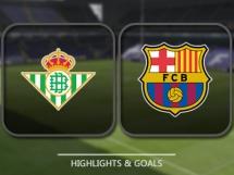 Betis Sewilla 1:1 FC Barcelona