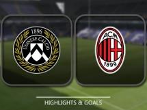 Udinese Calcio 2:1 AC Milan