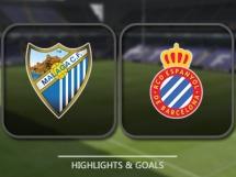 Malaga CF 0:1 Espanyol Barcelona