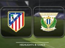 Atletico Madryt 2:0 Leganes