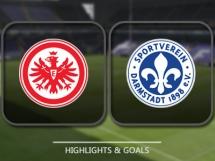 Eintracht Frankfurt 2:0 SV Darmstadt